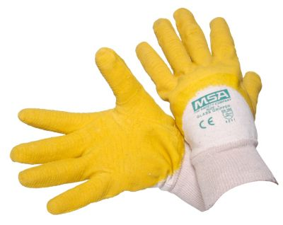 Latex Palm Dipped Glass Gripper Gloves