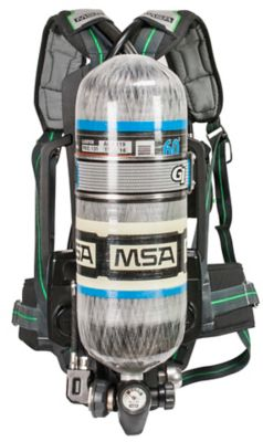 Scba Self Contained Breathing Apparatus Msa The Safety