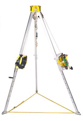 MSA Workman Confined Space Winch - a Personnel or Material Hoist