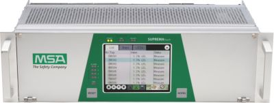 MSA SUPREMA Fire and Gas Detection System Touch Controller - front view of control unit