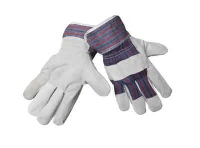 Split Leather Premium Candy Stripe Gloves
