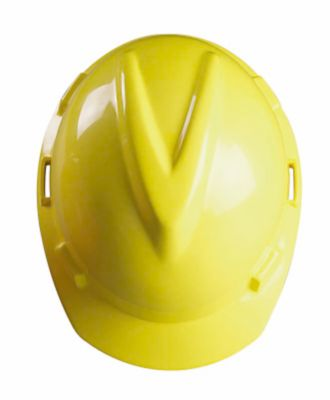 MSA V-Gard Hard Hat in red