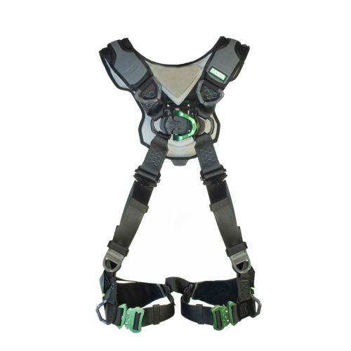 Vista angolata dell'imbracatura di protezione anticaduta MSA V-FLEX