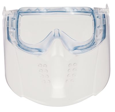 MSA Vertoggle safety goggles with face shield