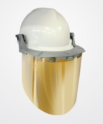 Visor for Radiant Heat/Elevated Temperatures
