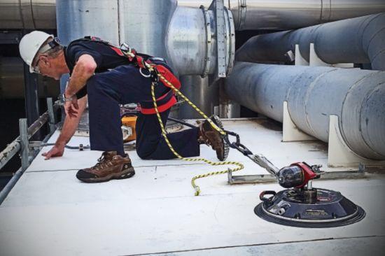 Latchways WinGrip® vacuum anchor