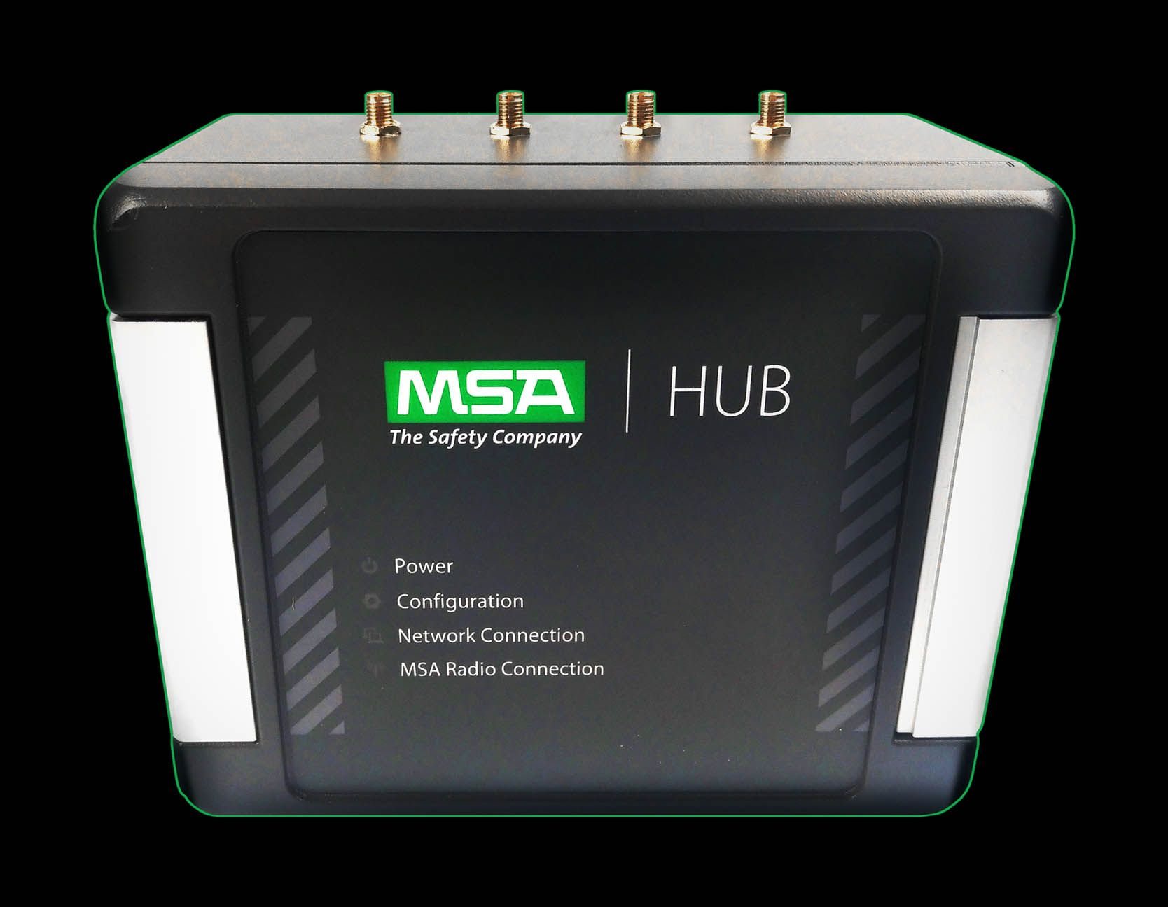 The MSA Hub device for Connected Firefighter