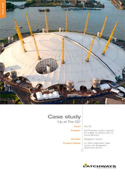 Case study thumbnail for the O2