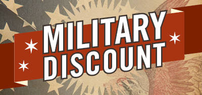 2018 Military Discount Events