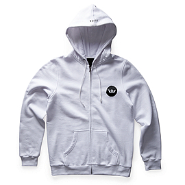 SCRATCH CROWN ZIP HOOD