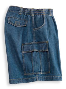 John Blair Side-Elastic Cargo Shorts