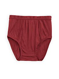 Men's Full-Cut Brief in Washable Silk