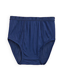Men's Full-Cut Brief in Washable Silk