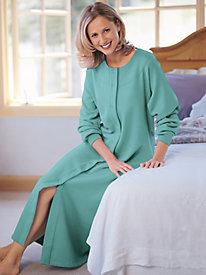 Women's Long Fleece Robe