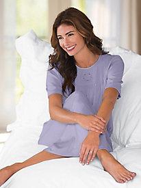 Women's Short-Sleeved Calida Gown