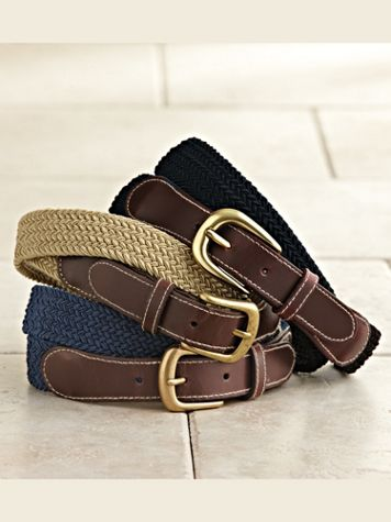John Blair Textured Stretch Belt - Image 1 of 5