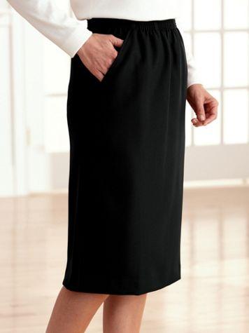 Silhouette Slimmers® Elastic-Waist Skirt - Image 3 of 4