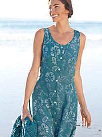Women's Hibiscus Batik Dress