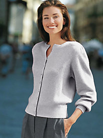 Women's Soft-Luxe Vintage Cardigan Sweater