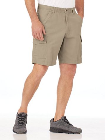 Scandia Woods Full-Elastic Cargo Shorts - Image 1 of 8