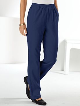 Pull-On Cotton Corduroy Pants