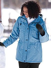 Weather-Resistant Microfiber Jacket