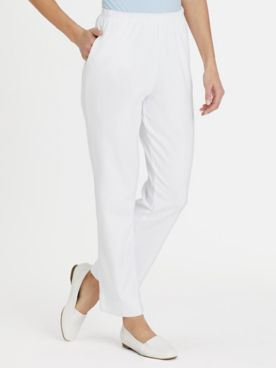 Essential Knit Pull-On Pants