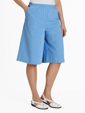 Calcutta Cloth Pull-On Split Skirt - Image 1 of 8