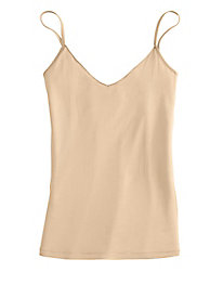 Washable Filament Silk V-Neck Camisole