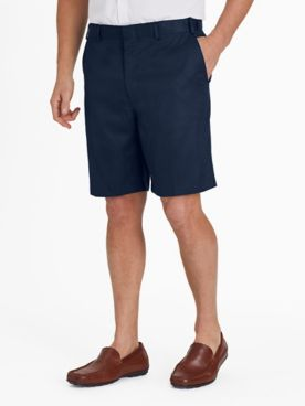 Adjust-A-Band Microfiber Dress Shorts