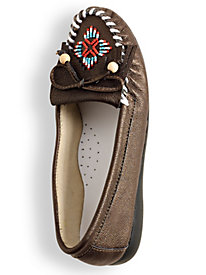 Beaded Moccasins by Blair