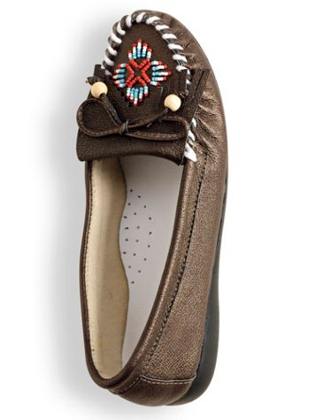 Beaded Moccasins - Image 0 of 2
