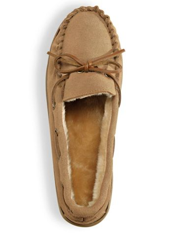Suede Slipper Moccasins by ComfortEase® - Image 4 of 4