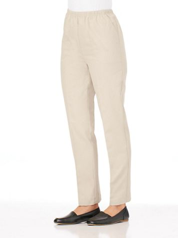 Pull-On Twill Pants  - Image 1 of 8