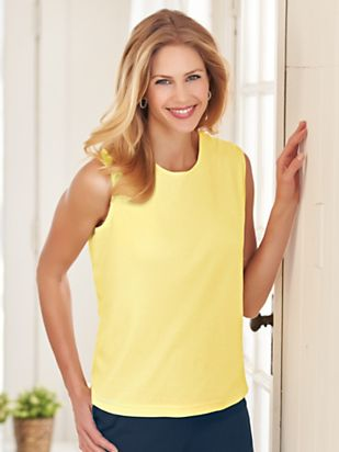 1960s Inspired Fashion: Recreate the Look Essential Knit Tank $9.99 AT vintagedancer.com