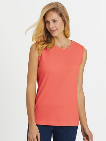 Essential Knit Tank Top - Image 1 of 30
