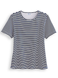 Striped Knit Tee by Blair