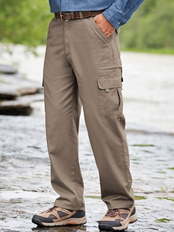 Scandia Woods Relaxed-Fit 7-Pocket Cargo Pants - Image 1 of 4