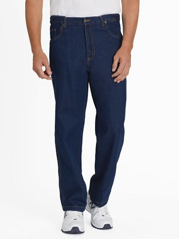 Adjust-A-Band Relaxed-Fit Jeans - Image 1 of 7