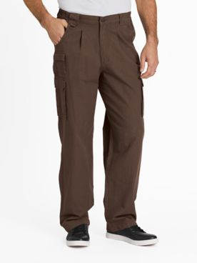 Scandia Woods Relaxed-Fit Side-Elastic Cargo Pants