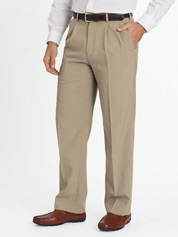 John Blair® Pleated-Front Dress Pants - Image 1 of 6