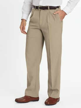 John Blair Relaxed-Fit Pleated-Front Dress Pants