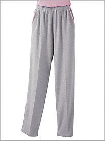 Heather Knit Pants by D&D Lifestyle&#8482