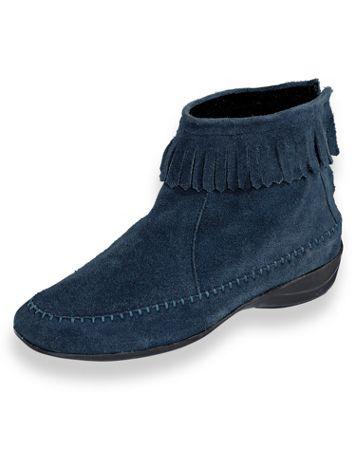 Kaya Fringed Suede Boots - Image 3 of 3