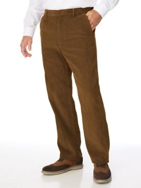 Adjust-A-Band Relaxed-Fit Corduroy Pants