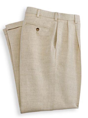 Irvine Park® Wrinkle Resistant Slacks - Image 1 of 4