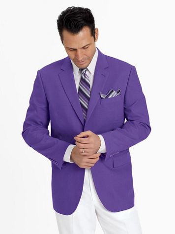 John Blair® Touch of Linen Sportcoat - Image 1 of 4