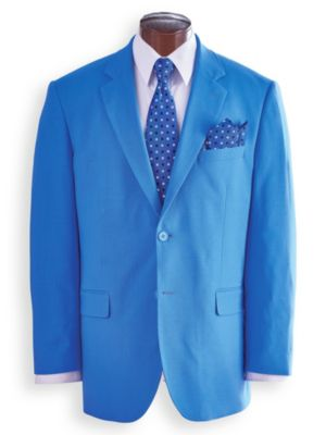 1960s Mens Suits | 70s Mens Disco Suits John Blair® Touch of Linen Sportcoat  AT vintagedancer.com