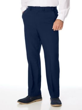 Adjust-A-Band Microfiber Dress Pants