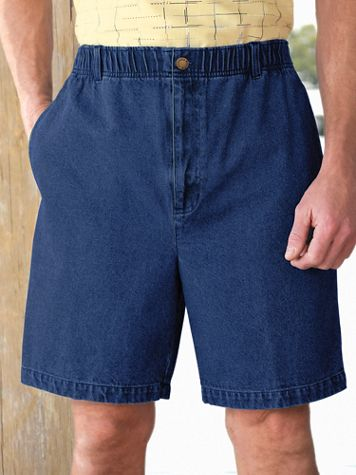 Scandia Woods Elastic-Waist Sport Shorts - Image 1 of 6